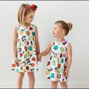 Hanna Andersson fruit dress 🍎🍉🍌🍇🍈